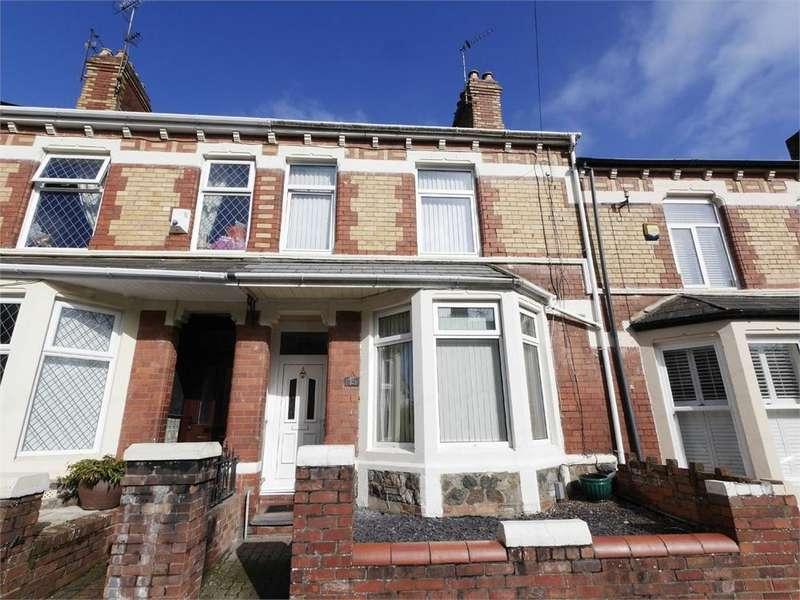 3 Bedrooms Terraced House for sale in Andrew Road, Cogan