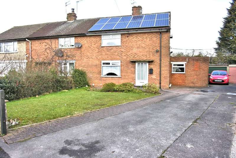 2 Bedrooms Semi Detached House for sale in MORTON ROAD, BURTON MANOR, STAFFORD ST17