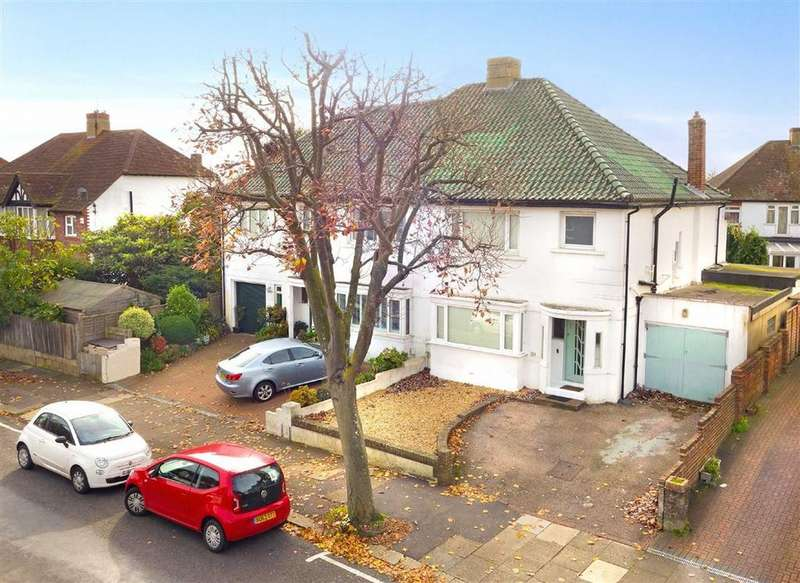 3 Bedrooms Semi Detached House for sale in Nevill Road, Hove