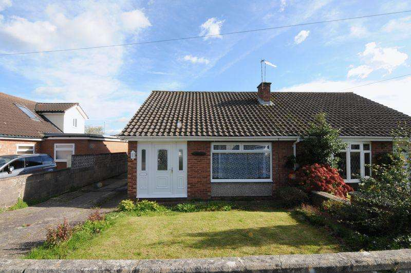 2 Bedrooms Semi Detached Bungalow for sale in Bagnell Close, Stockwood, Bristol, BS14