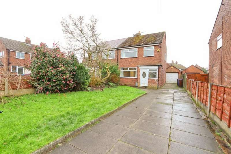 3 Bedrooms Semi Detached House for sale in 3 Greenside Drive, Irlam