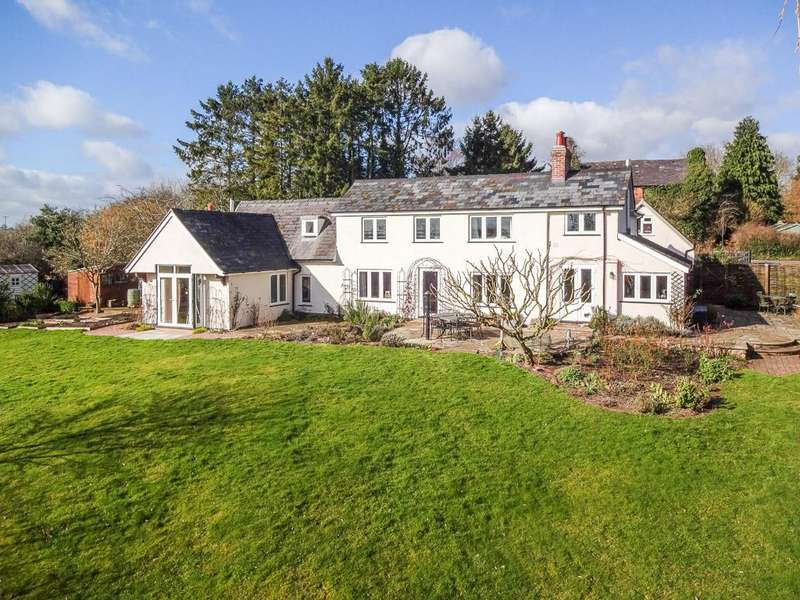 4 Bedrooms Detached House for sale in Woodgate Green, Knighton-On-Teme, WR15