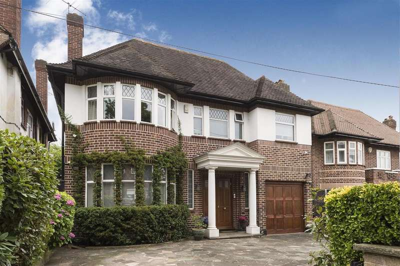 5 Bedrooms Detached House for sale in Haslemere Gardens, N3