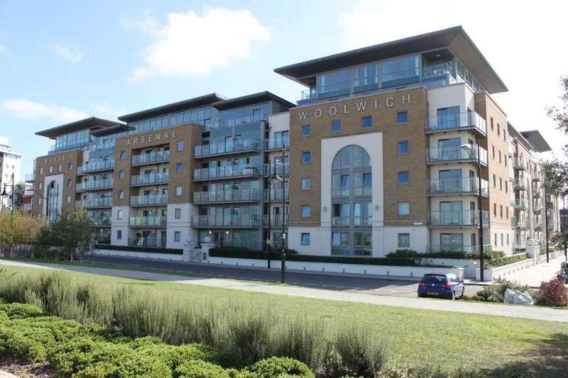 2 Bedrooms Flat for sale in Building 50, Royal Arsenal Riverside SE18