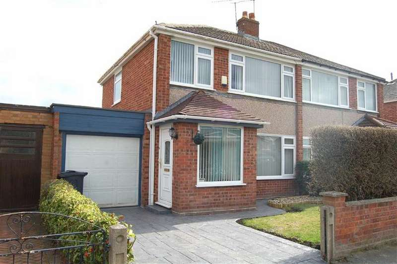 3 Bedrooms Semi Detached House for sale in Shepton Road, Great Sutton, Ellesmere Port