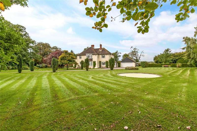 5 Bedrooms Detached House for sale in Locks Lane, Sparsholt, Winchester, Hampshire, SO21