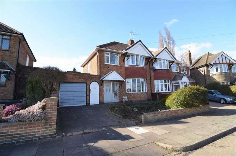 3 Bedrooms Detached House for sale in Kingscliffe Crescent, Leicester