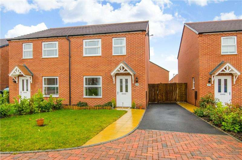 3 Bedrooms Semi Detached House for sale in Hatton Close, Redditch, Worcestershire, B98
