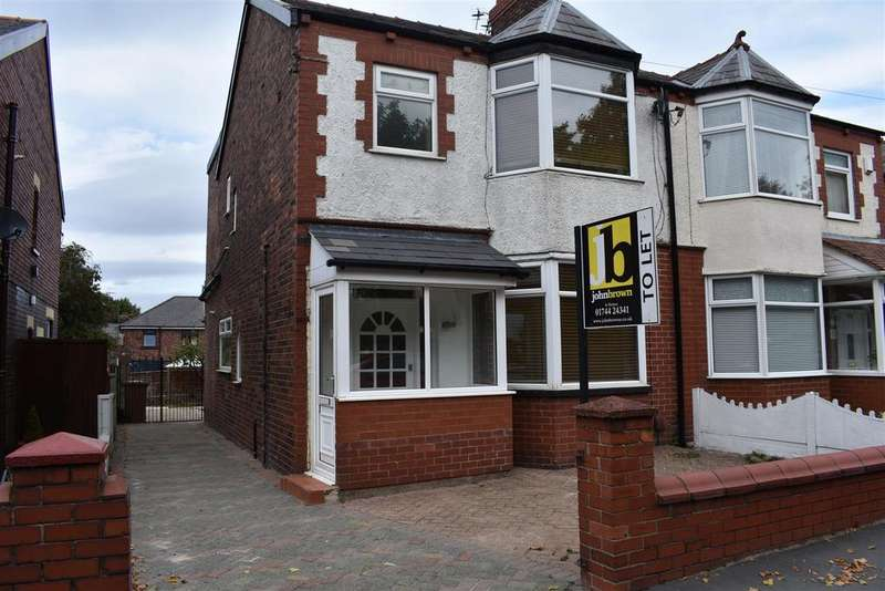 3 Bedrooms Semi Detached House for rent in Knowsley Road, St. Helens