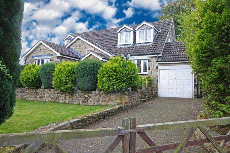 4 Bedrooms Detached House for sale in Streetgate Park, Sunniside, Whickham