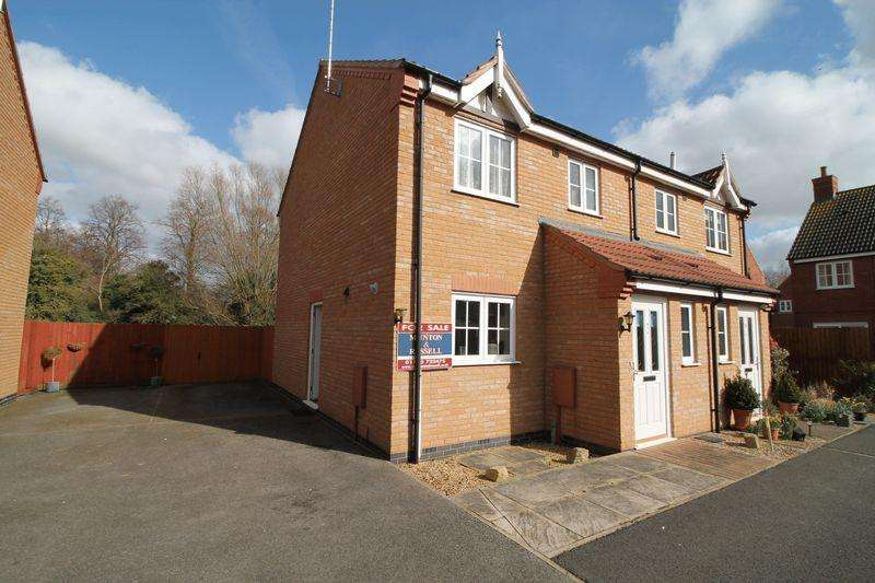 3 Bedrooms Semi Detached House for sale in Lewis Court, Spalding
