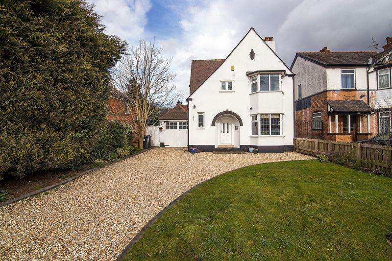 4 Bedrooms Detached House for sale in 419 Chester Road, Sutton Coldfield