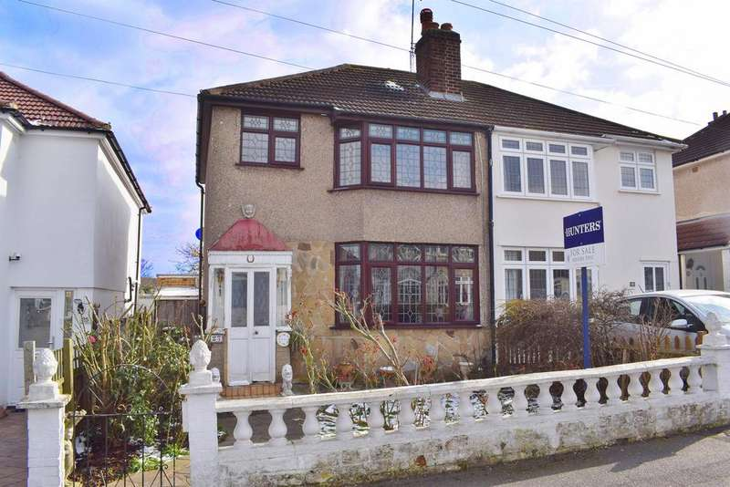 3 Bedrooms Semi Detached House for sale in Ingleton Avenue, South Welling, Kent, DA16 2JY