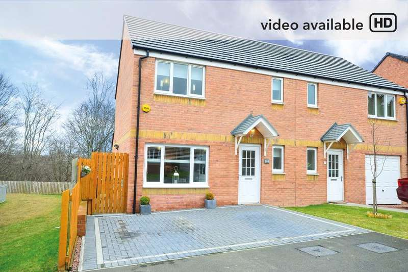 3 Bedrooms Semi Detached House for sale in Valleyfield Crescent , Ferniegair, South Lanarkshire, ML3 7FJ