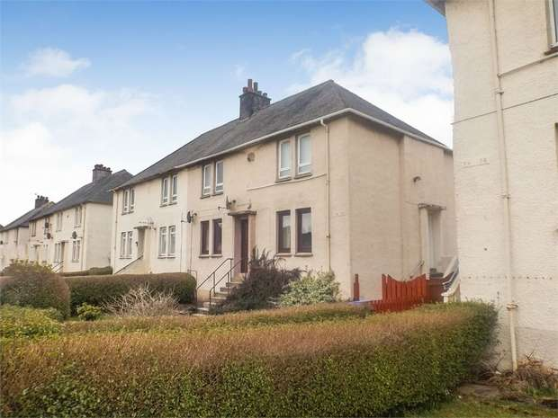 2 Bedrooms Flat for sale in Munro Avenue, Kilmarnock, East Ayrshire