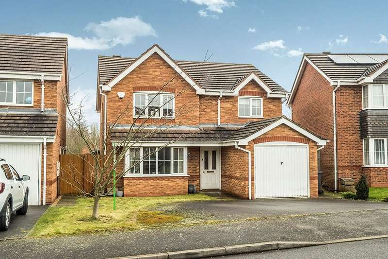 3 Bedrooms Detached House for sale in Mercers Meadow, Keresley End, Coventry, CV7