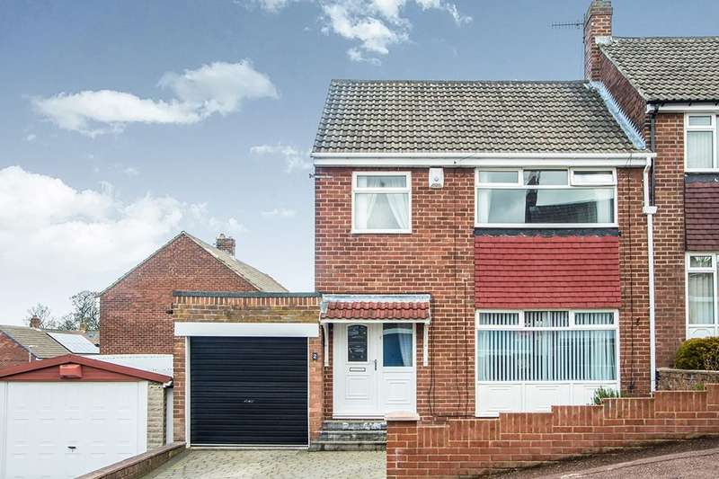 3 Bedrooms Semi Detached House for sale in Alexandra Drive, Swalwell, Newcastle Upon Tyne, NE16
