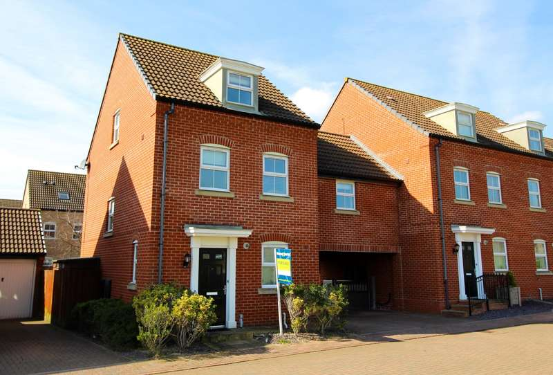 3 Bedrooms Link Detached House for sale in Ashville Road, Peterborough, PE7