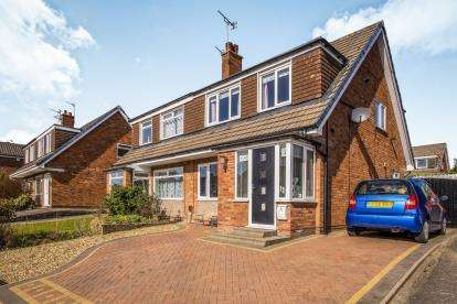 3 Bedrooms Semi Detached House for sale in Lansdown Hill, Fulwood, Preston, Lancashire, PR2