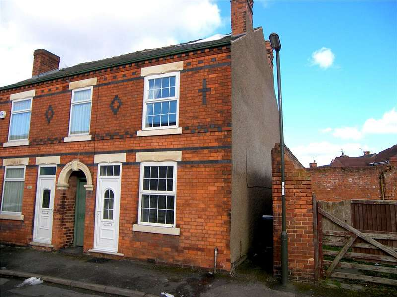 2 Bedrooms Semi Detached House for sale in Catherine Street, Alfreton, Derbyshire, DE55