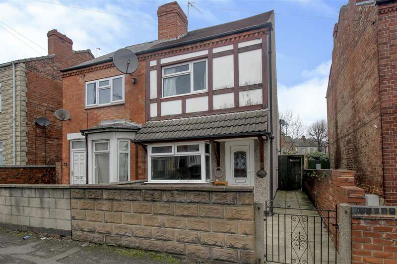 3 Bedrooms Terraced House for sale in Nottingham Road, Ilkeston
