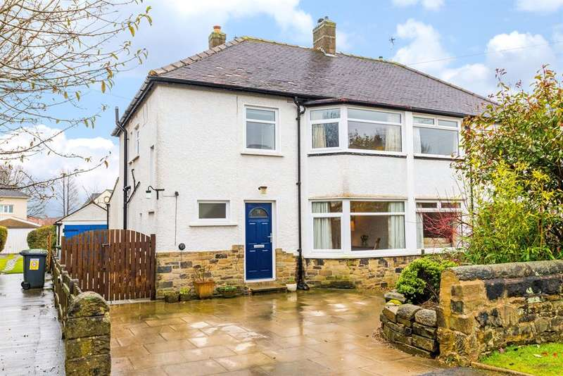 3 Bedrooms Semi Detached House for sale in Tredgold Avenue , Bramhope, LS16