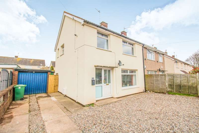 3 Bedrooms Semi Detached House for sale in Brynbala Way, Rumney, Cardiff