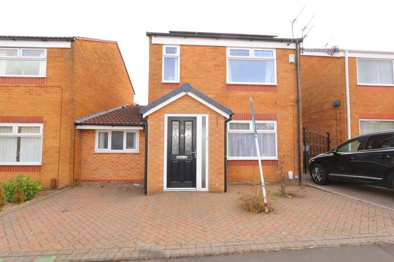 4 Bedrooms Detached House for sale in Broomfields, Denton, Manchester, M34