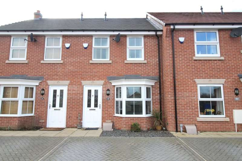 2 Bedrooms Terraced House for sale in Wentworth Close, Gilberdyke, Brough, HU15