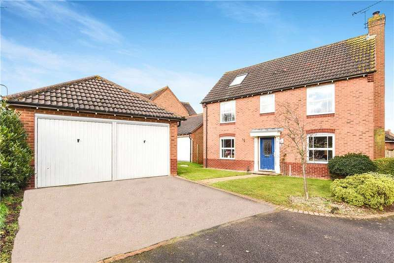6 Bedrooms Detached House for sale in Humphries Drive, Brackley, Northamptonshire