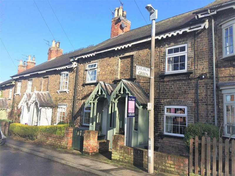 2 Bedrooms Terraced House for sale in Church Lane, Elvington, York, YO41