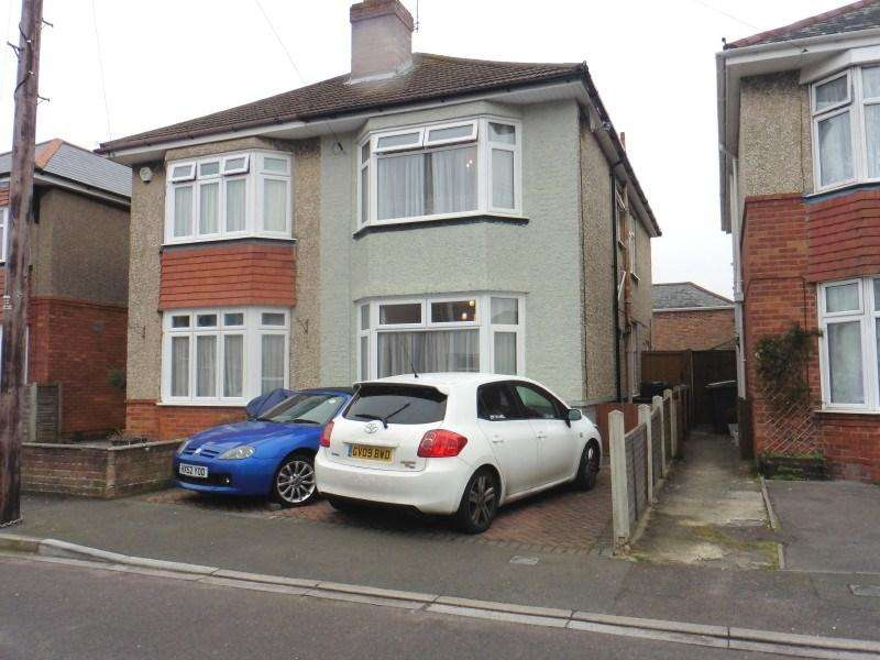 3 Bedrooms Semi Detached House for sale in Rosebud Avenue, Bournemouth