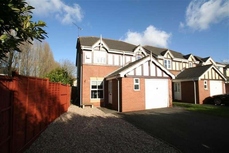 3 Bedrooms Detached House for sale in Ashridge Close, Maple Park, Nuneaton, Warwickshire, CV11