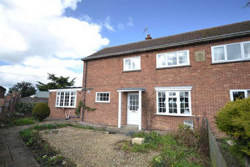 3 Bedrooms Semi Detached House for sale in Casewick Lane, Uffington, Stamford