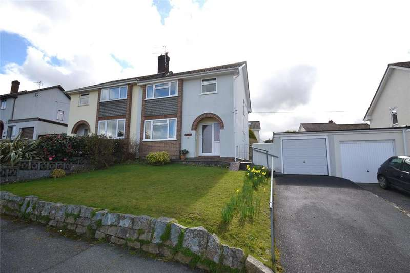 3 Bedrooms Semi Detached House for sale in Sandra Way, Bodmin