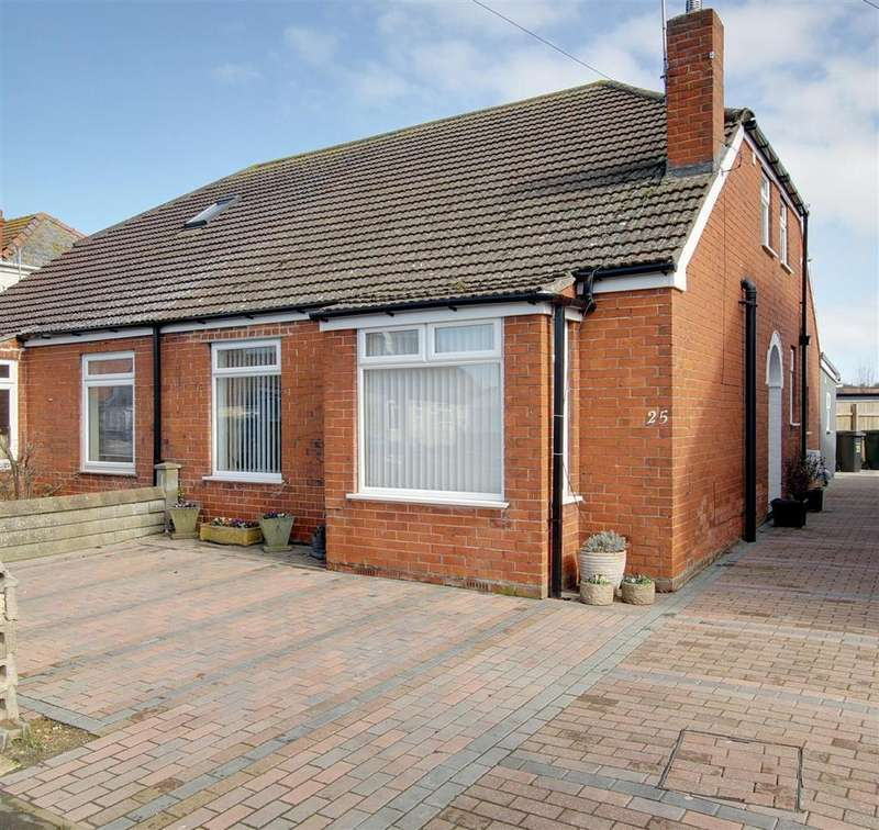 2 Bedrooms Semi Detached Bungalow for sale in St. Andrews Road, Mablethorpe