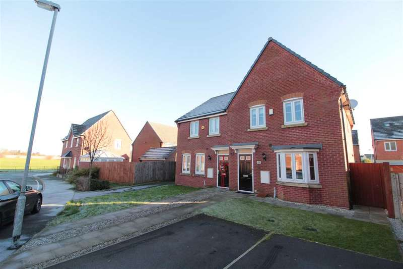 3 Bedrooms Semi Detached House for sale in Meadowsweet Road, Kirkby