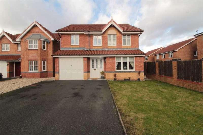 4 Bedrooms Detached House for sale in Elliott Drive, Kirkby