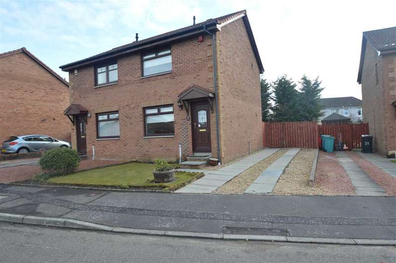2 Bedrooms Semi Detached House for rent in Potts Way, Motherwell
