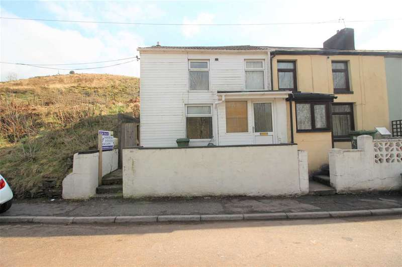 3 Bedrooms End Of Terrace House for sale in Gelliararial Rd, Porth