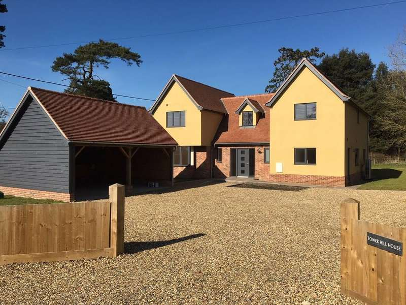 4 Bedrooms Detached House for sale in Barham, Nr Ipswich, Suffolk