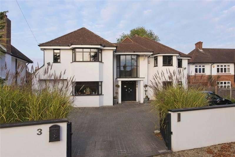 5 Bedrooms Detached House for rent in Sandown Road, Esher, Surrey, KT10