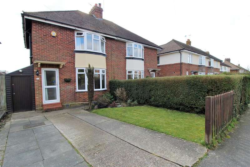 3 Bedrooms Semi Detached House for sale in Bethune Road, Horsham