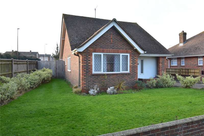 3 Bedrooms Detached Bungalow for sale in Nursery Close, North Lancing, West Sussex, BN15