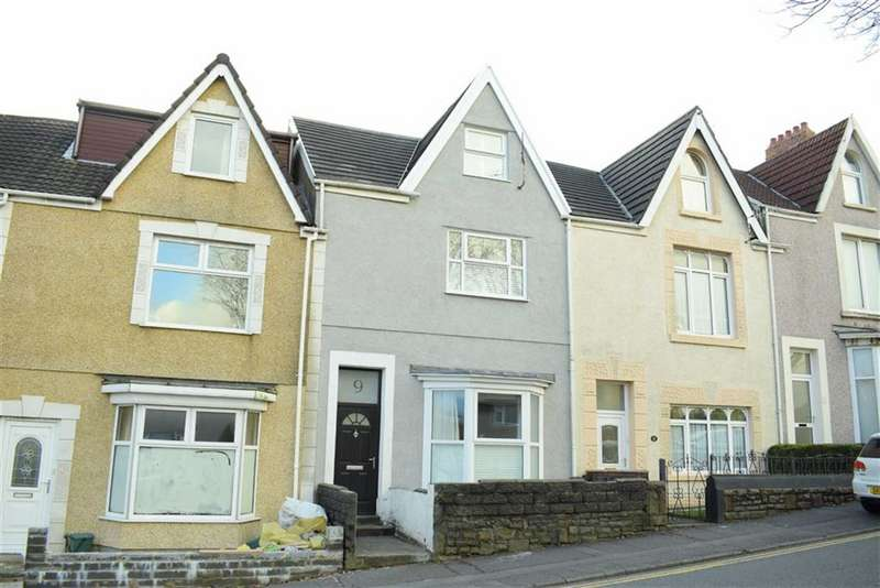 4 Bedrooms Terraced House for sale in Glanmor Road, Uplands