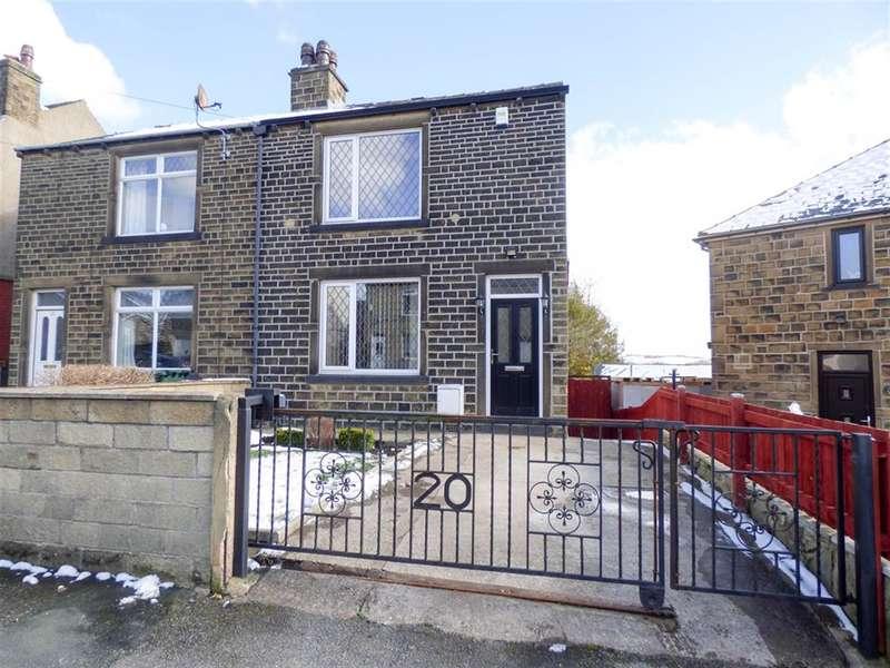 2 Bedrooms Semi Detached House for sale in Longfield Avenue, Dalton, Huddersfield, HD5 9LG