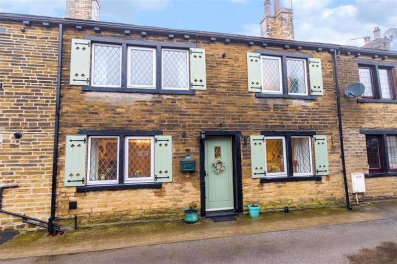2 Bedrooms Terraced House for sale in Womersley Place, Pudsey, LS28 7TW