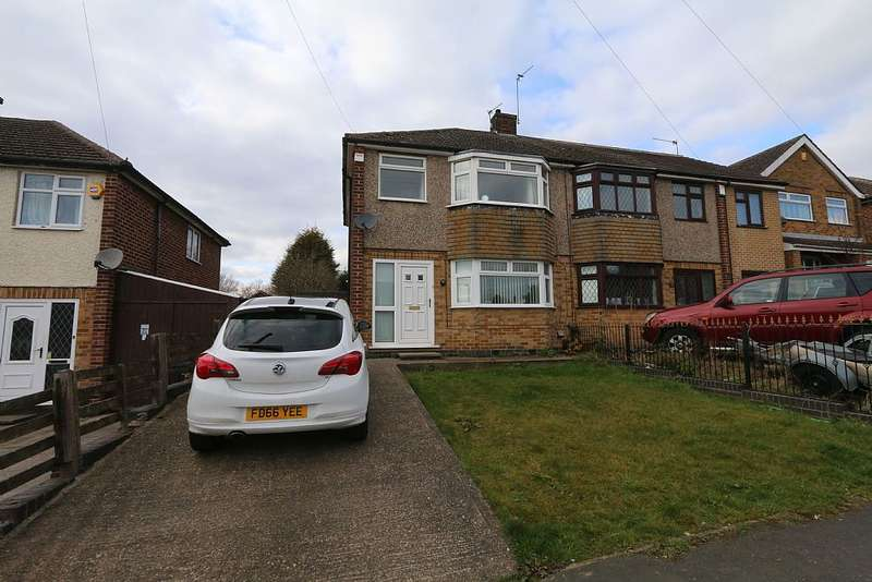 3 Bedrooms Semi Detached House for sale in Sandringham Drive, Spondon, Derby, Derbyshire, DE21