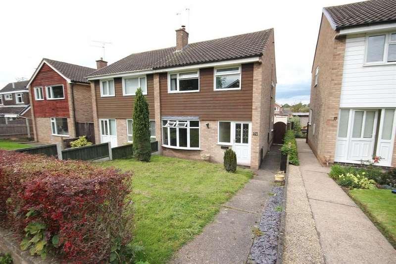 3 Bedrooms Semi Detached House for sale in Kingsmuir Road, Mickleover, Derby
