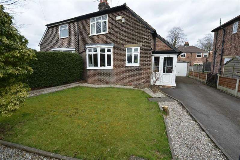 2 Bedrooms Semi Detached House for sale in Cambridge Road, URMSTON, Manchester